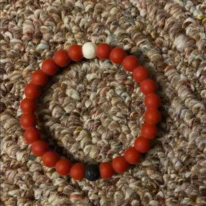 Liv Lorain Bracelet Size Small Red and Black/Wh